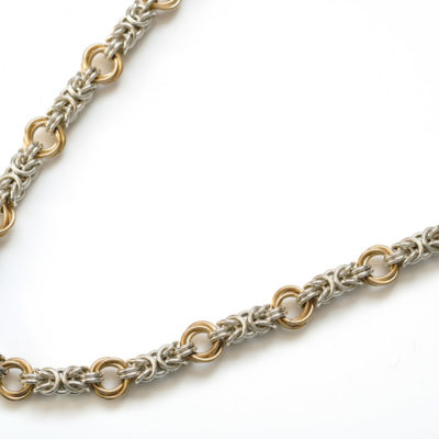 byzantine-rose-sterling-silver-14kt-yellow-gold-filled-chainmaille-necklace-hui-designs