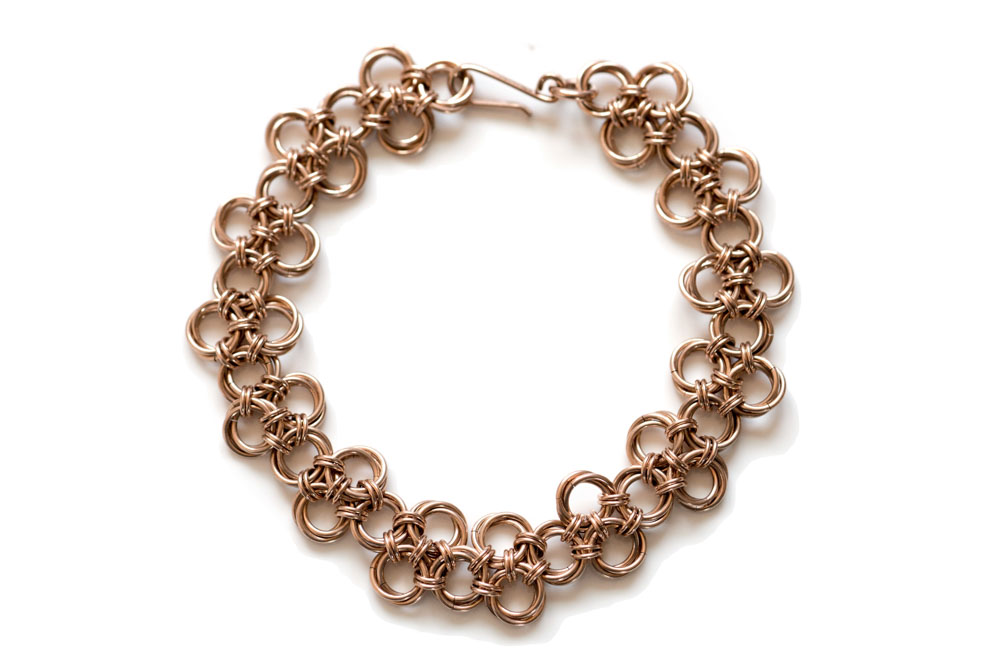 Endless-14kt-rose-gold-filled-chinese-knot-chainmaille-bracelet-hui-designs