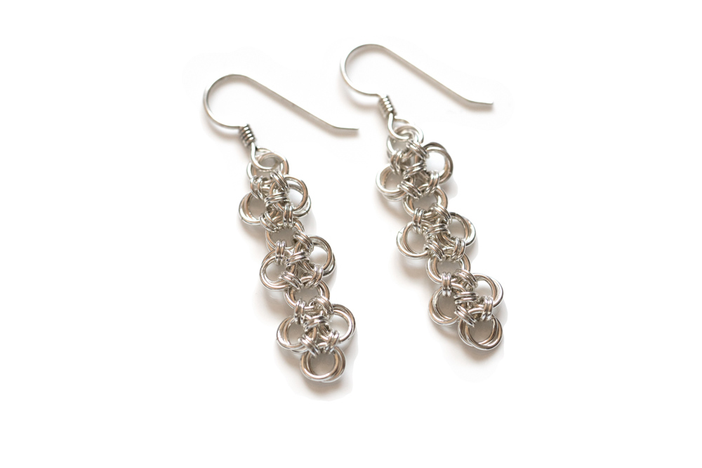 Endless-sterling-silver-chinese-knot-chainmaille-earrings-hui-designs