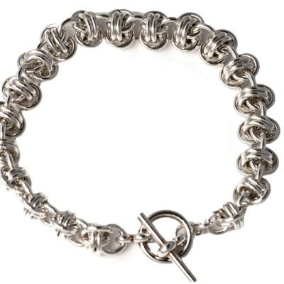 16g Barrel-Sterling-Silver-Chainmaille-Bracelet-Hui-Designs