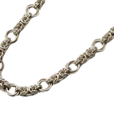 byzantine-rose-sterling-silver-chainmaille-necklace-hui-designs